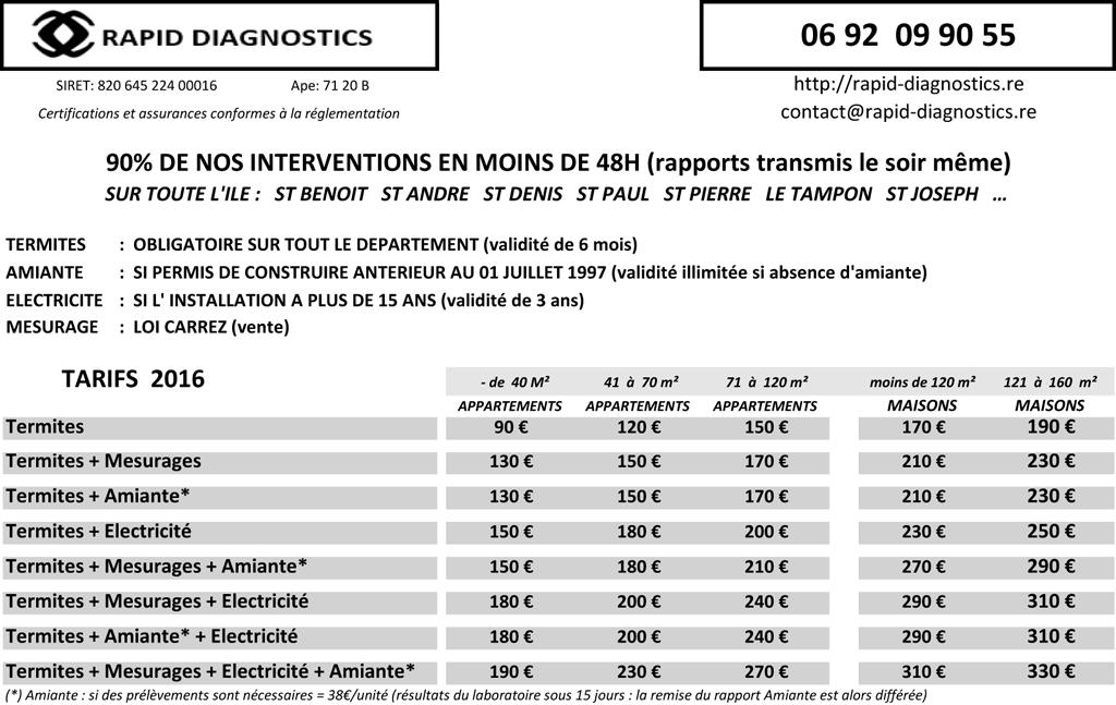 rapid diagnostics liste des soci t s r union directory. Black Bedroom Furniture Sets. Home Design Ideas