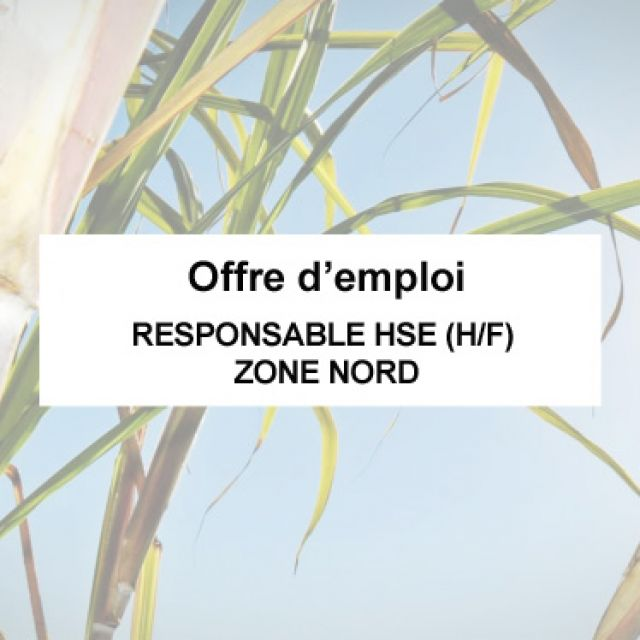 Offre d'emploi | RESPONSABLE HSE (H/F) - ZONE NORD
