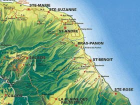 De Sainte-Suzanne à Sainte-Rose